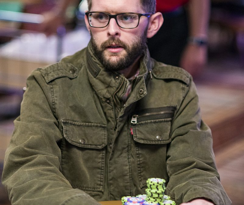 کیف های Christopher Fitzgerald Bags Day 1b Chip Lead in the WPTWOC 25،500 $ Super Super Roller Championship